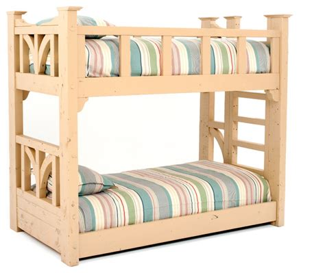 beach style beds reclaimed wood cottage bunk bed beach style bunk beds