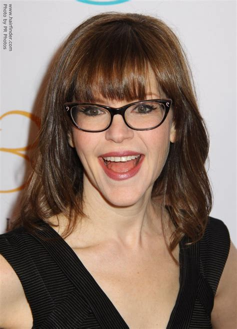bob haircuts and glasses lisa loeb wearing glasses and with her hair in a long bob