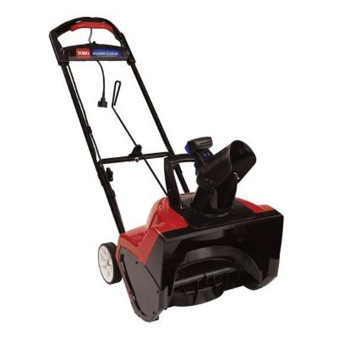 toro power curve 18 in electric snow blower 38381 the