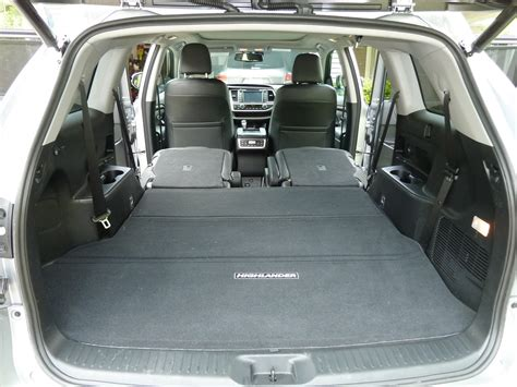 Toyota Highlander Trunk Dimensions Carseatblog The Most Trusted Source For Car Seat Reviews