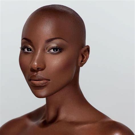 beautiful bald black women drop dead gorgeous bb beautiful women pinterest