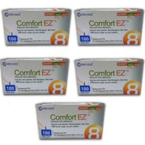comfort ez pen needles comfort ez pen needles short 31g 8mm 5 16 quot bx 100