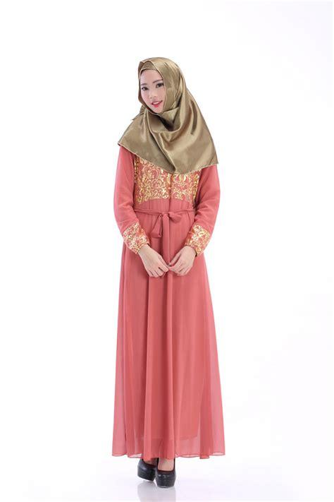 Dress Maxi Dress Muslim Donita womens printed islamic dress kaftan muslim maxi dress