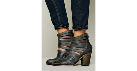 free hybrid heel boot free fp collection womens hybrid heel boot in gray