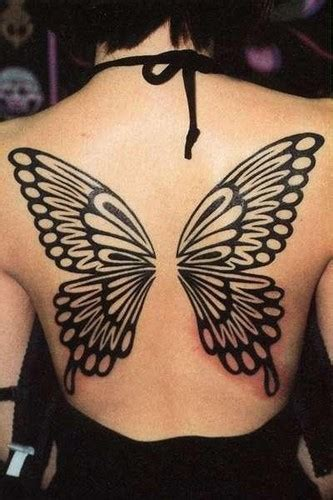 butterfly back tattoo tatoos beautiful butterfly designs