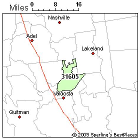 zip code map valdosta ga best place to live in valdosta zip 31605 georgia