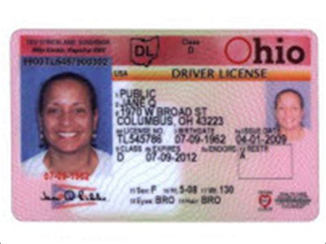 ohio id card template best photos of ohio id template ohio driver s license
