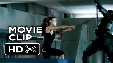 film barat vire academy the hunger games catching fire movie clip 2 training