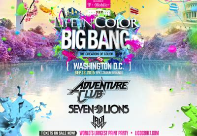 in color 2015 club glow washington dc