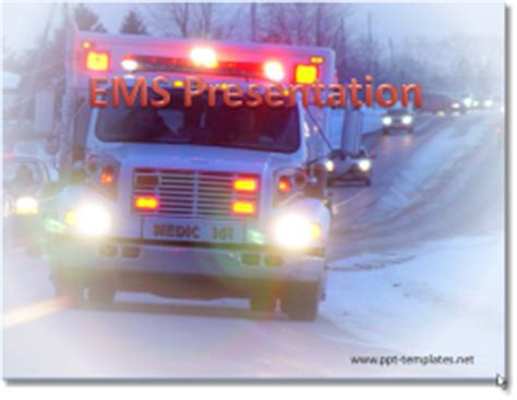 Emt Powerpoint Templates Ambulance Powerpoint Template