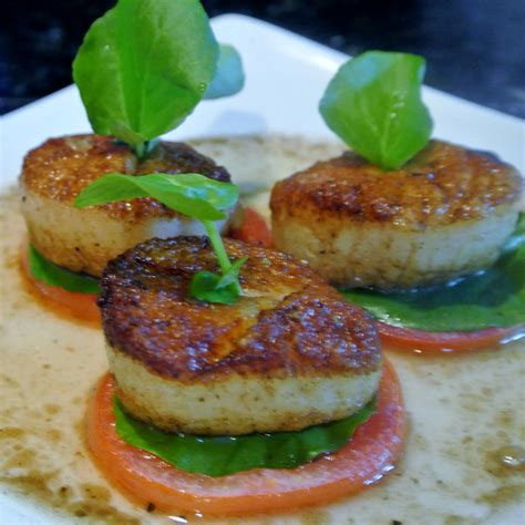 gourmet cooking for two pan seared scallops