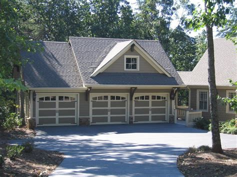3 Car Garage Plans Free by Great Detached Rustic 3 Bay Garage With A Large Studio