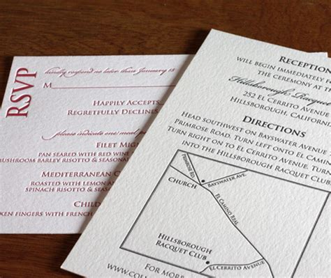wedding invitation directions 3 ways to make a wedding map letterpress wedding maps and directions letterpress wedding