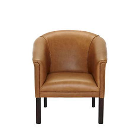 small leather tub chair pubs clubs studyroom bedroom
