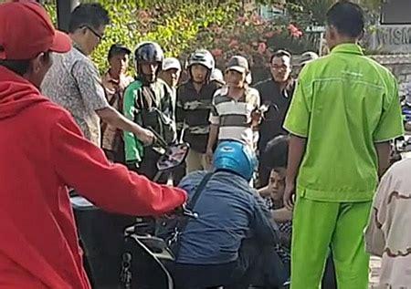 Lu Tembak viral pria todongkan pistol di pinggir jalan