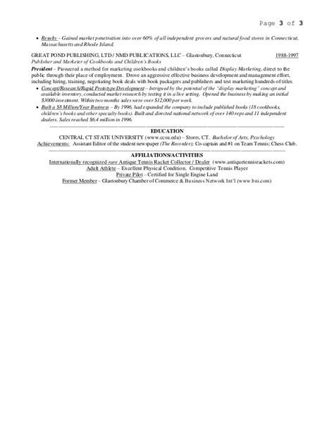 Weis Resume by R Weiss Resume 6 3 15