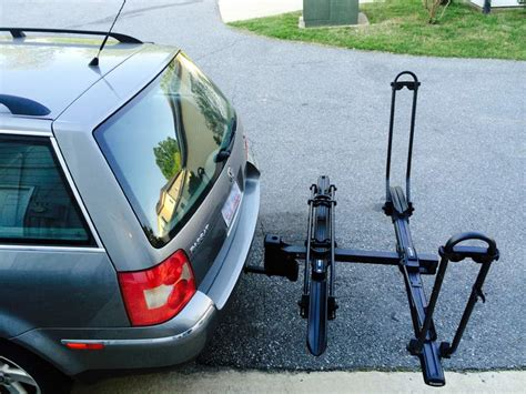 How To Mount A Bike Rack On Your Car by Review Inno Racks Versatile Tire Hold Hitch Mount Bike