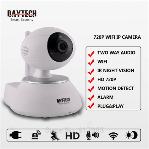 daytech ip wifi home security surveillance