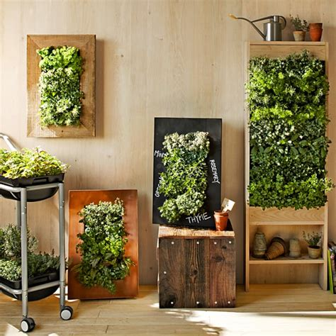 vertical wall planters copper vertical wall planter williams sonoma
