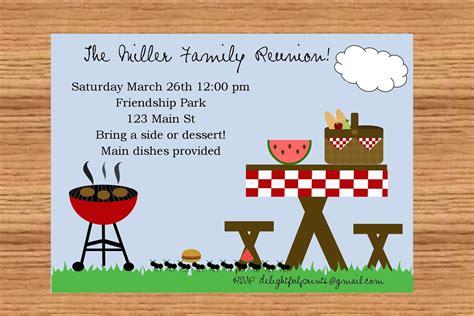 family invitation wording 23 barbecue and picnic invitation card designs to inspire