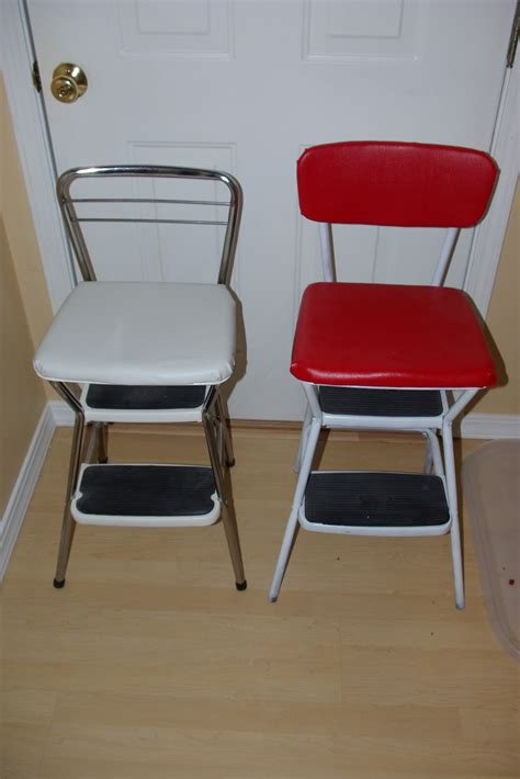 Costco Step Stool by Reclaimed Rustics Mid Century Cosco Step Stools Chairs