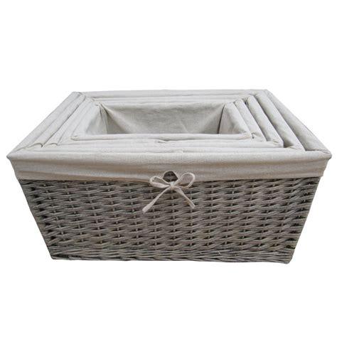 storage baskets furniture wicker storage basket ideas to make your room