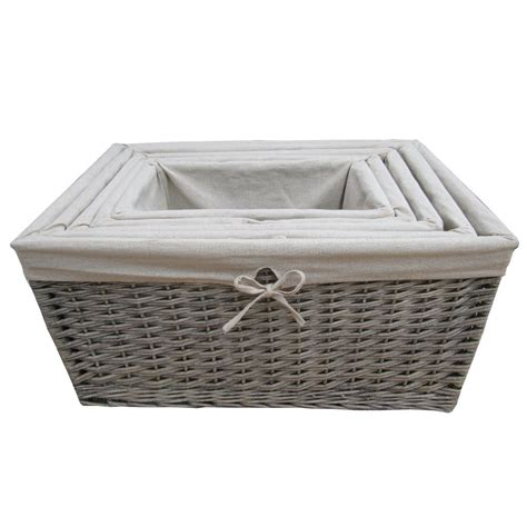 Furniture : Wicker Storage Basket Ideas to Make Your Room More Organized   wicker storage