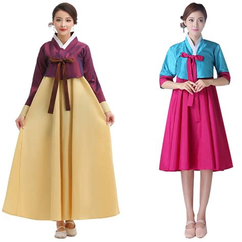 Korean Vest Dress One Set aliexpress buy sleeve south korean traditional