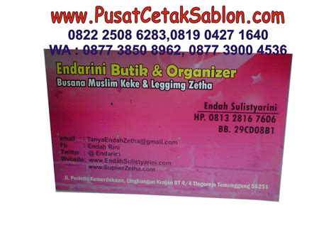 buat kartu nama semarang jual cetak kartu nama harga murah jasa cetak kartu nama di bekasi pusat cetak sablon
