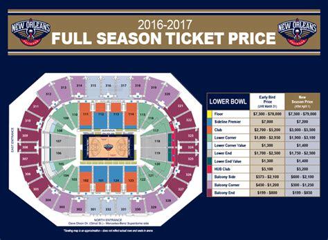 Pelicans Mba Season Schedule by Pelicans Tickets New Orleans Pelicans