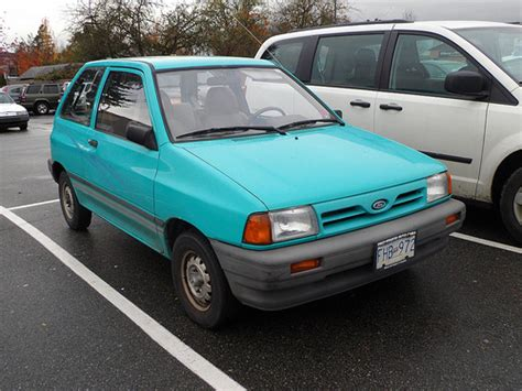 all car manuals free 1993 ford festiva on board diagnostic system 1993 ford festiva information and photos zombiedrive