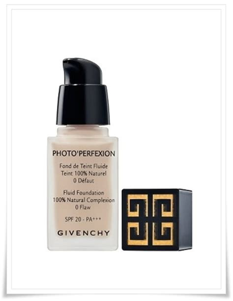 Me Heroine Make Spf 20 Pa givenchy photo perfexion fluid foundation spf 20 pa musings of a muse