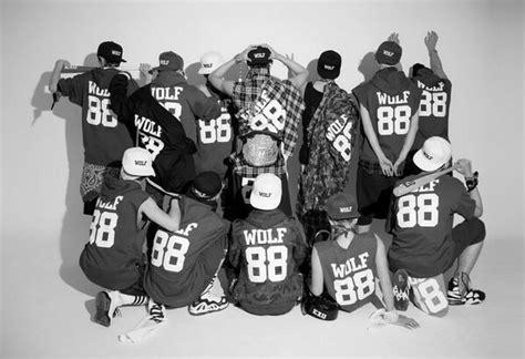 wallpaper exo wolf 88 exo k wolf 88 font forum dafont com