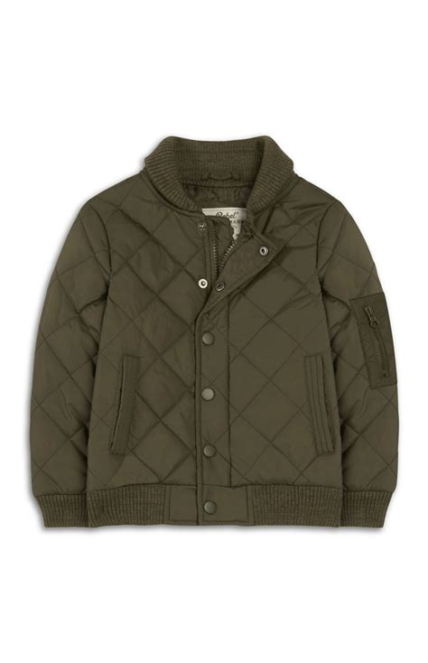 Primark Quilted Jacket by Khaki Quilted Bomber Jacket Made By Primark
