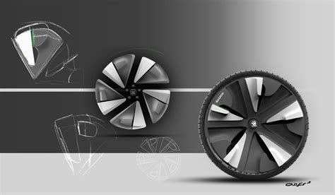 skoda respir concept  jan christian osnes wheel design