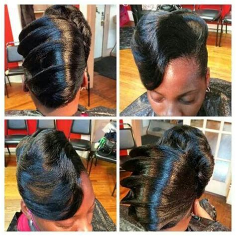 Roll Hairstyle For Black by Roll Hairstyle For Black Hair Impression Hair Style