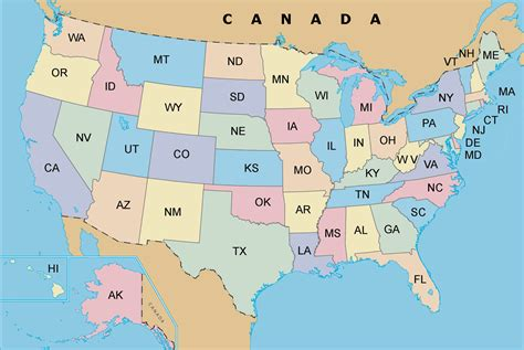 usa state maps usa map region area map of canada city geography