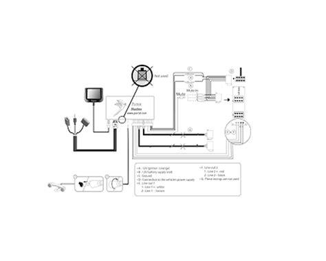 parrot mki  power  speaker wiring kit plymouth car sound