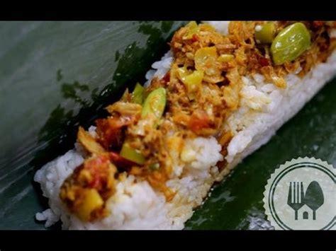resep nasi bakar ikan tongkol youtube