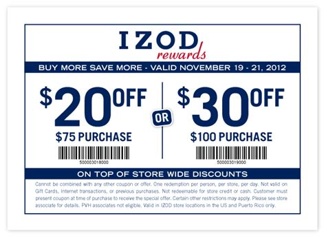 printable van heusen outlet coupons izod coupon 2017 2018 best cars reviews
