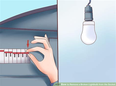 how to remove broken light bulb from socket how to remove a broken lightbulb from the socket with