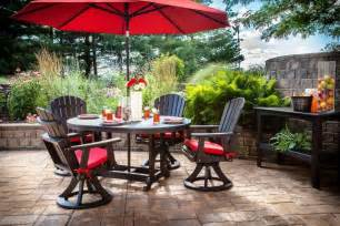 Outdoor Patio Set With Umbrella Patio Dining Sets With Umbrella Ketoneultras
