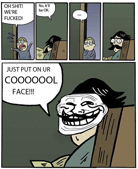 Dad Comic Meme - image 86018 trollface coolface problem know