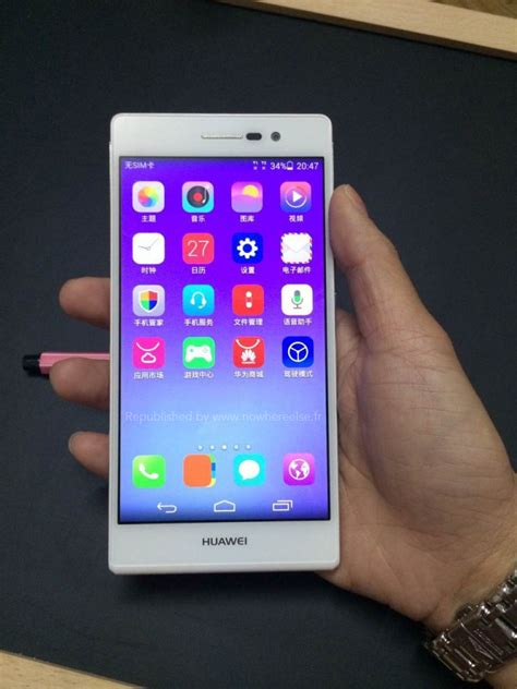 huawei ascend p7 photos leak show striking resemblance to