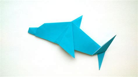 How To Make Paper Dolphin - paper dolphin paper