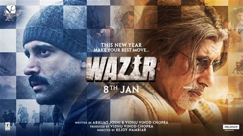 watch online wazir 2016 full movie hd trailer wazir official trailer january 8 2016 youtube