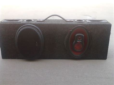 Speaker Roadmaster Roadmaster Speakers 6x9 For Sale
