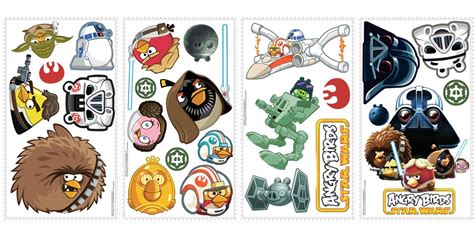 Star Wars Lego Wall Stickers new angry birds star wars wall decals kids bedroom