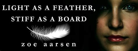 Light As A Feather Stiff As A Board Chant by 5 Books That Should Be Adapted Into