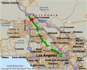 sylmar california map sylmar california map california map